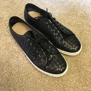 Sesto Meucci Nudara Woven Leather Sneakers